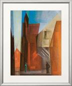 "Bild ""Archtower I / Torturm I"" (1929), gerahmt"