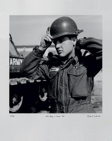 "Robert Lebeck: Bild ""Elvis Presley"", ungerahmt"
