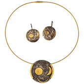 "Jewelry Set ""Nebra Sky Disc"""