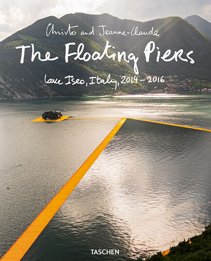"""Christo und Jeanne-Claude: Buch """"The Floating Piers"""" (2014-2016)"""