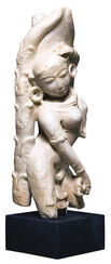 "Replica ""Dancing Apsara"", Artificial Casting"