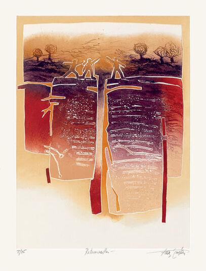 """Francis Méan: Bild """"Wiederfinden"""" (2010), ungerahmt"""