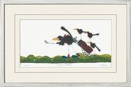 "Bild ""Caddy Crows"" (2010), gerahmt"