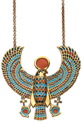 "Pendant "" Tutankhamun's Falcon-Pectoral"" with chain"