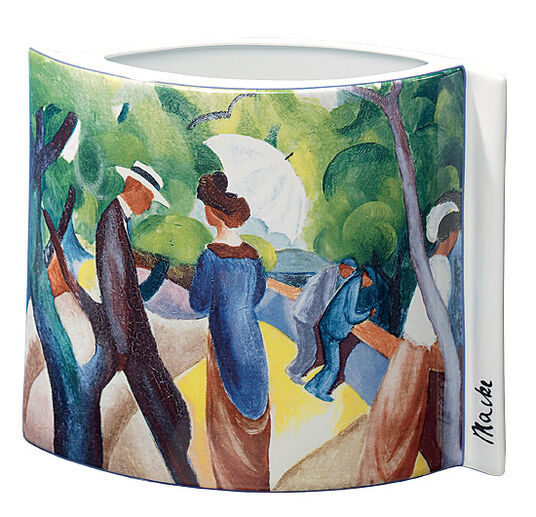 "August Macke: Porcelain ""Promenade"""