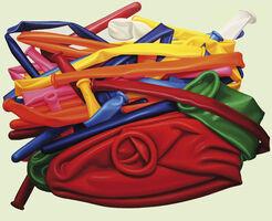 """Bild """"Modellier-Luftballons II"""" (2015) (Unikat)"""