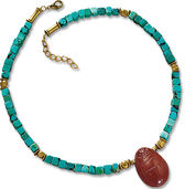 "Necklace ""Scarab"""