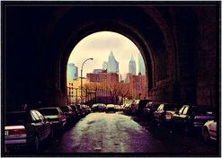 "Bild ""Tunnel II"", gerahmt"