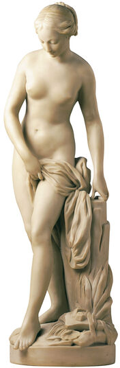 "Etienne-Maurice Falconet: Sculpture ""Bather"" (reduction), artificial marble"