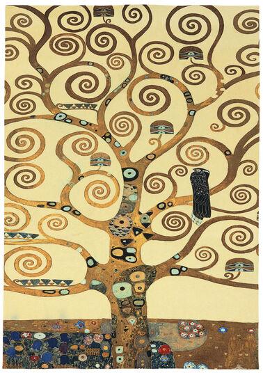 "Gustav Klimt: Teppich ""Lebensbaum"" (eckig, 230 x 160 cm)"
