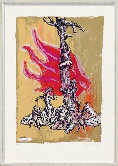 """Jörg Immendorff: Bild """"Sintflut"""" (2001)"""