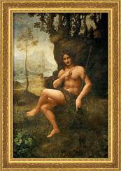 """Bild """"Bacchus / Johannes der Täufer"""" (1513/16), gerahmt"""