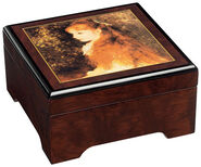 "Musical jewelry box ""Mademoiselle Irene"" - by Auguste Renoir"