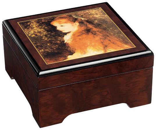 """Auguste Renoir: Musical jewelry box """"Mademoiselle Irene"""" - by Auguste Renoir"""