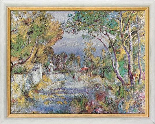 """Auguste Renoir: Bild """"L´Estaque"""" (1882), gerahmt"""