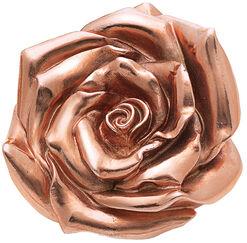 """Skulptur """"Rose"""" (2012), Version rosévergoldet"""