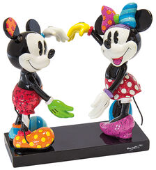 "Skulptur ""Micky und Minnie"", Kunstguss"