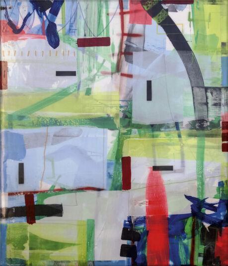 "Ralf Bohnenkamp: Bild ""Ohne Titel #57"" (2016) (Unikat)"