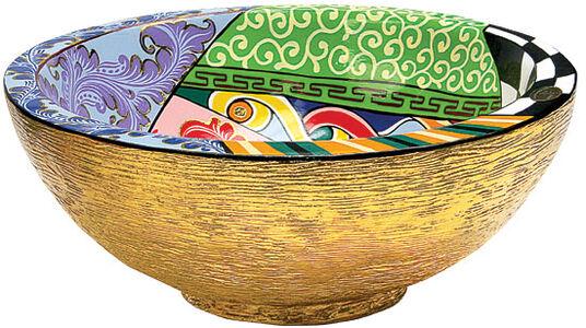 """Thomas Hoffmann / Tom's Drag: Glass Bowl """"Drag Bowl"""""""