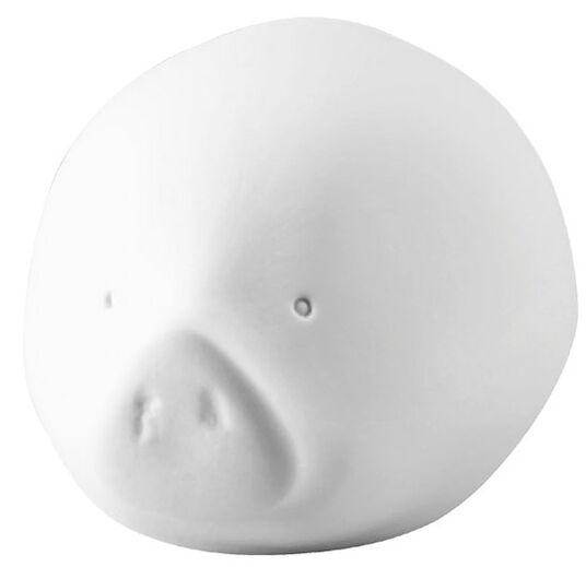 """Sebastian Herkner: Porzellan-Schwein """"RORO weiß"""" (groß, 50 cm)"""