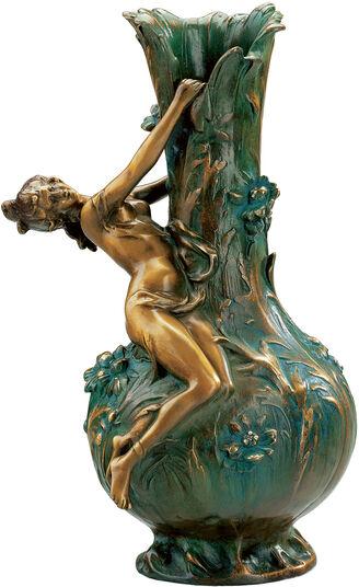 """Louis Auguste Moreau: Vase """"Marguerites"""""""