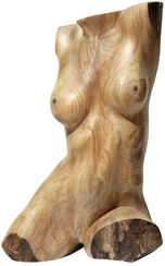 "Sculpture ""Innocenza femminile"", wood (2010)"
