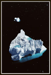 "Bild ""Iceberg at Disko Bay, Greenland - from the series All about Water"" (1989)"
