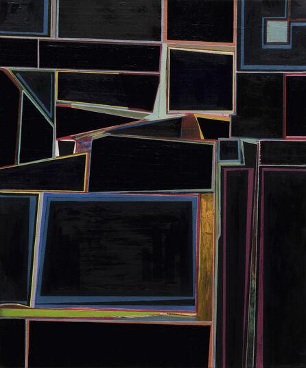 "Jens Günther: Bild ""Improvisation III"" (2016) (Unikat)"