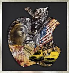 "Bild ""Grand Central II"" (2016), gerahmt"