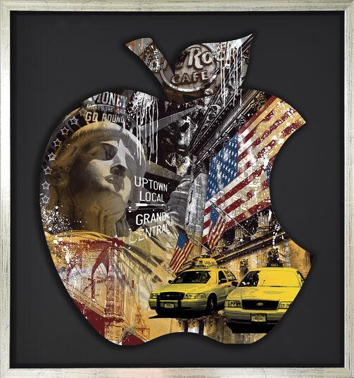 "Devin Miles: Bild ""Grand Central II"" (2016), gerahmt"