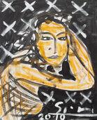 """Bild """"Eva in der Nacht"""" (2010) (Original / Unikat), ungerahmt"""