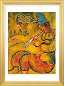"""Bild """"Der gelbe Clown"""", 1959, gerahmt"""