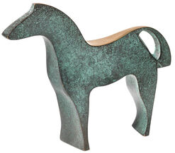 """Skulptur """"Pferd"""", Bronze"""