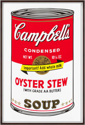 "Bild ""Warhols Sunday B. Morning - Campbell´s Soup - Oyster Stew"" (1980er Jahre)"