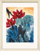 "Bild ""Roter Lotus II"" (1999)"