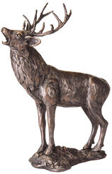 "Sculpture ""Deer"", Artificial Bronze"