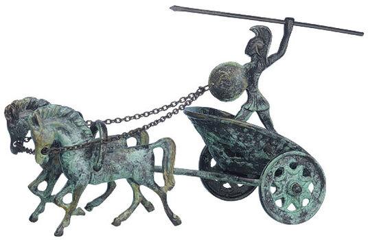 Achill in War Chariot