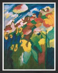 """Bild """"Murnau - Garten II"""" (1910), gerahmt"""