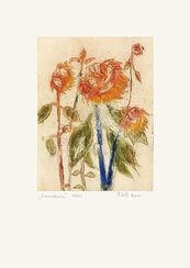 """Bild """"Sonnenblumen"""" (2006), ungerahmt"""