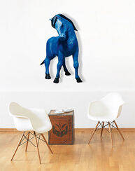 "Wall Object ""The Blue Horse"""