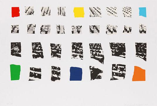 "John Baldessari: Bild ""Two Assemblages (Opaque)"" (2003)"