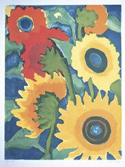 """Bild """"Stillleben mit Sonnenblumen"""" (1980)"""