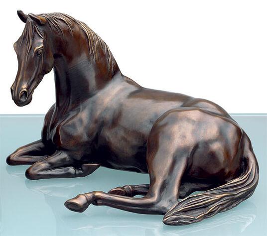 """Annette Diekemper: Pferdeskulptur Araber-Stute """"Arabien mare"""", Bronze"""