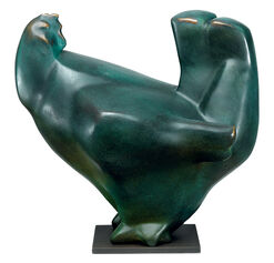 "Sculpture ""Hen"", Bronze"
