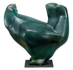 "Skulptur ""Henne"", Bronze"