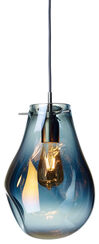 """LED-Designerlampe """"Soap"""", große Version blau"""