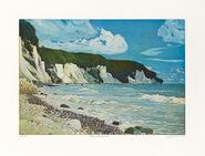 """Painting """"Ruegen Limestone Rocks III"""" (2012)"""
