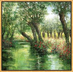 "Bild ""Le Marais Poitevin"", gerahmt"