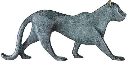 """Raimund Schmelter: Skulptur """"Panther"""", Bronze"""