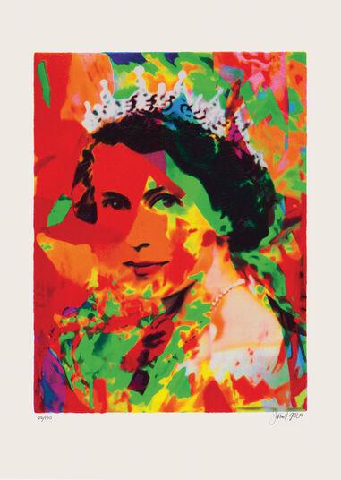 """James Francis Gill: Bild """"Her Majesty 1"""" (2014)"""